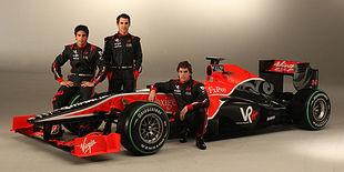 Virgin Racing продемонстрировала будущее