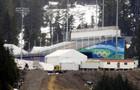 На Олимпиаде горы строят из соломы. Снега нет
