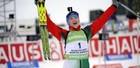 Валя Семеренко четвертая в гонке преследования