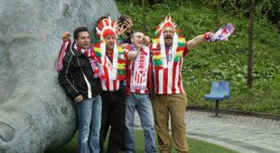 Финал Лиги Европы: Последние приготовления +ФОТО