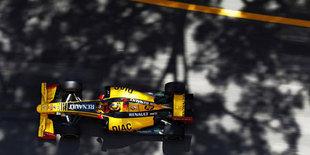 У Renault первый ряд и разбитая машина