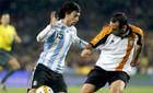 Сборная Аргентины проиграла Каталонии