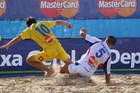 Жаркие баталии на горячем песке, фото odessa.ua