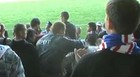Беркут опять бьет футбольных фанатов