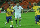 Белоруссия – Швеция – 0:1 +ВИДЕО
