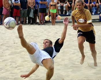 Гран-При по пляжному футболу: