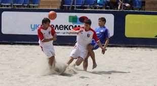 Гран-При по пляжному футболу: Таврия - 3-я! Металлист - 5-й
