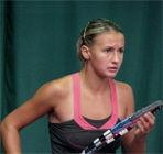 Леся Цуренко добывает первую победу на турнирах WTA