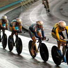 Провідні українські гонщики колесили впродовж минулого тижня львівським велотреком СКА