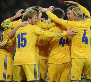 Украина - Австрия- 2:1 + ВИДЕО