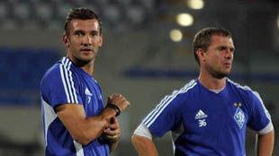 Шевченко и Бертольо готовятся к матчу против Оболони