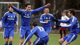 Динамо (U-15): четыре мяча для канониров