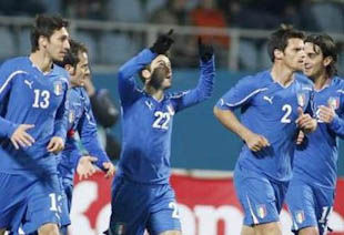 Украина - Италия - 0:2