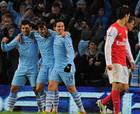 Манчестер Сити - Арсенал - 1:0 + ВИДЕО