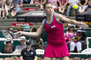 WTA Окленд. Результаты четвертьфинальных матчей