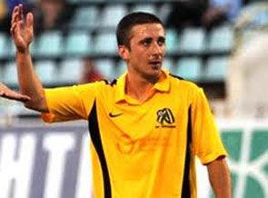 Таргамадзе признан лучшим игроком Александрии в 2011 году