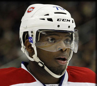НХЛ. Суббан выиграл конкурс на силу броска в Монреале