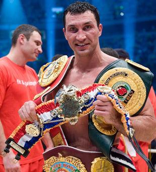 Владимир Кличко - Лучший спортсмен 2011 года!