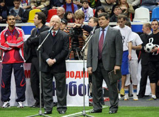 Сборная Украины сыграет против Феррары, Корради и Томмази