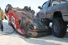 На ралли в Харькове автомобиль сбил двух болельщиц + ФОТО