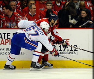 НХЛ. Овечкин, Семин и Орлов разбудили Вашингтон