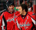 НХЛ. Овечкин столкнулся с Кнублом на тренировке Вашингтона