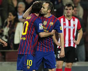 Барселона - Атлетик - 2:0 + ВИДЕО