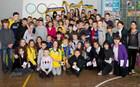 Горяинов и Березовчук посетили школу №148 + ФОТО + ВИДЕО