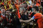 Металлист поздравил Шахтер с завоеванием Кубка Украины