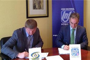 ЛНФС и Экстра-лига подписали договор о сотрудничестве