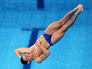 Сборная Украины по прыжкам в воду стала лучшей в Европе