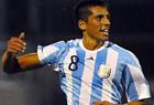 Соса сыграл за сборную Аргентины