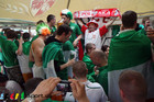 Ирландия - Хорватия: совместное пивопитие и песни-пляски