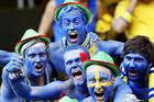 Конная милиция для шведских фанатов
