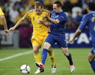 Украина - Франция - 0:2