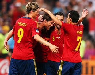 Испания - Франция - 2:0