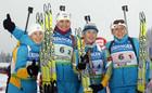 Сборная Украины берет серебро в эстафете на ЧМ!!!