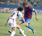 Виталий Романов дебютировал в матче Волынь-Арсенал