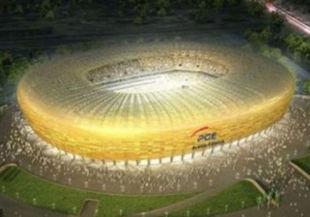 Стадион в Гданське все еще не готов