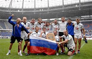 Сборная России по регби проиграла Самоа