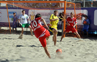 Чемпионат Киева Beachsoccer league 2011