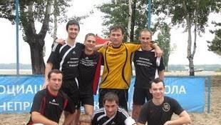 Пляжный футбол: 1-й чемпионат Украины среди журналистов