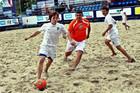 Пляжный футбол. Первая лига. Дежурная победа Бинго