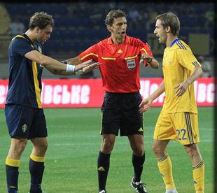 Украина - Швеция - 0:1