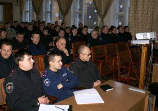 Евро-2012: киевские милиционеры общаются на английском