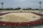 Реконструкция стадиона Авангард продолжается