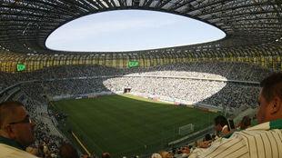 Новый стадион в Гданьске открыт!