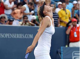 Чемпионская гонка WTA. Шарапова вышла на первое место