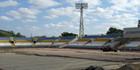 Новые фотографии реконструкции стадиона Зари