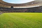 На НСК Олимпийский завершается укладка газона